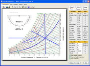 Click to view Psychrometric Chart + Duct Calculator screenshots